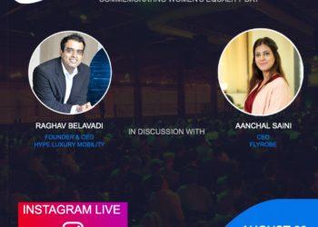 Women Behind The Wheel- Webinar with Aanchal Saini, CEO, Flyrobe
