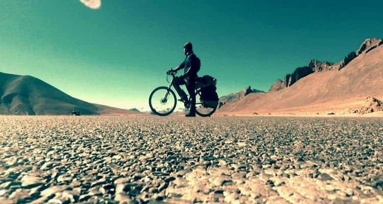 India Through My Cycle: The Man On A Mission